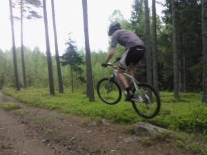 Johan hoppar