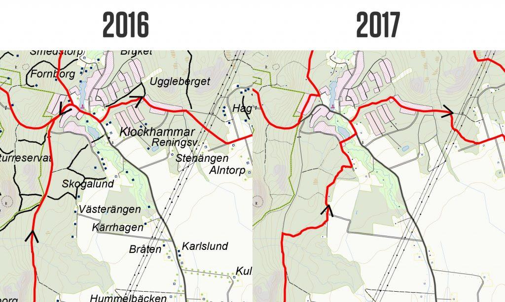 Banändring 2017